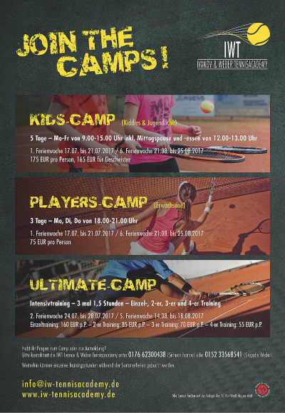 IWTPosterA3Tenniscamps