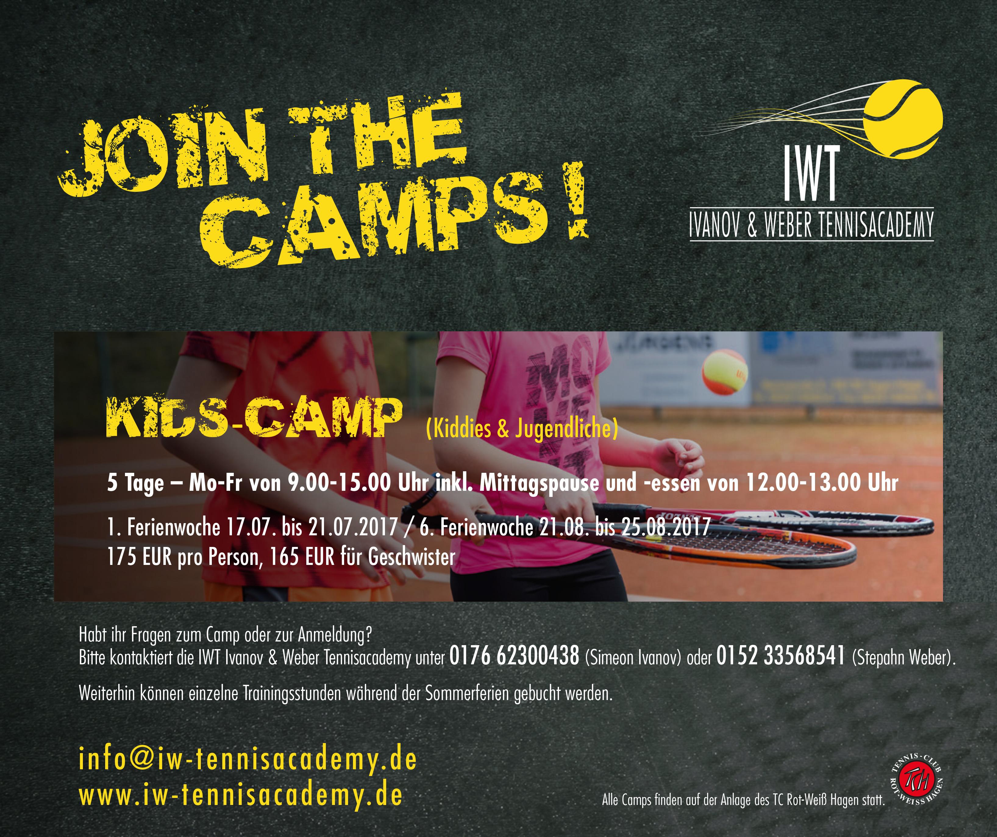 KIDS-Tenniscamps