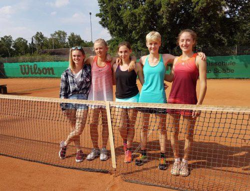 U18 Mädchen des TC Rot-Weiß Hagen – 3.Platz in Westfalen