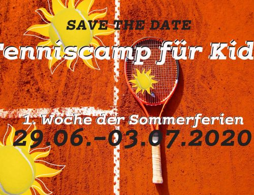 Tenniscamp für Kids in den Sommerferien
