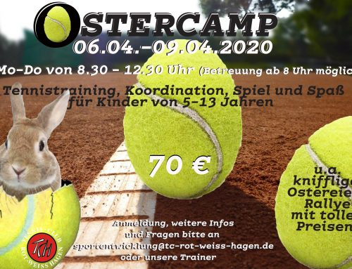 Tenniscamp für Kids in den OSTERFERIEN